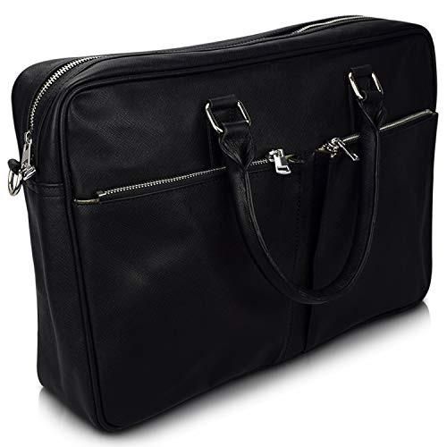 schwarzer Rindleder Taschen