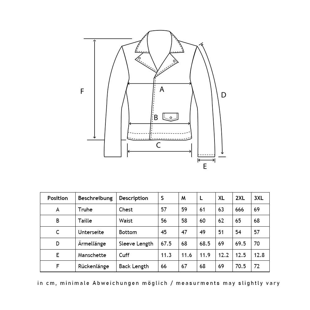 AirForce_leather jacket_size